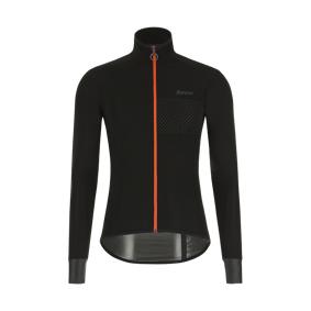Santini Guard Nimbus Rainproof Stretch Jacket 2021, regnjakke sykling, unisex S BLACK