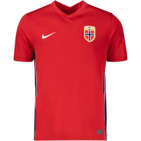Nike Norge Fotballdrakt 20/21 Hjemme, senior M Gym Red/white