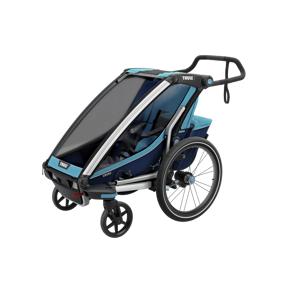 Thule Cross 1 biketrailer w/strollerkit, sykkelvogn med trillevognsett STD STD
