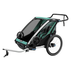 Thule Lite 2 w/strollerkit, sykkelvogn med trillevognsett STD STD