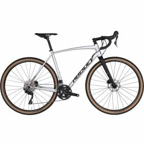 Ridley Kanzo A Disc GRX 400/600 20, allsidig grussykkel unisex XL Silver-black Matt