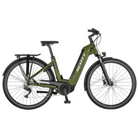 Scott SUB Tour eRide 10 625 Wh 21, elsykkel, hybrid, unisex L Green