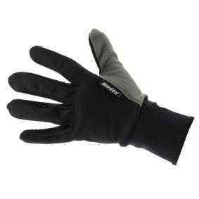Santini Vega 365 warm Windstopper glove, isolert sykkelhanske unisex L BLACK