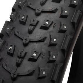45NRTH Dillinger 5 26x4,6 60tpi 258 studtire, piggdekk for fatbike 26x4,6 BLACK