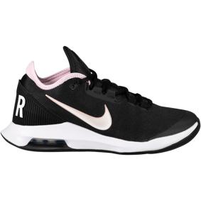 Nike Court Air Max Wildcard, tennissko dame 7/38 Black/white-pink Foa