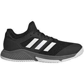 adidas Court Team Bounce, hallsko herre 42 2/3 Core Black/Ftwr Whit