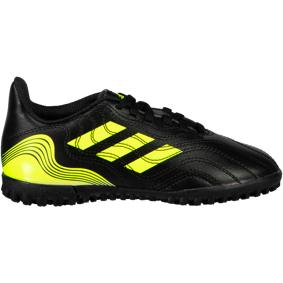 adidas COPA SENSE.4 TF J, fotballsko junior 32 core black/solar yel