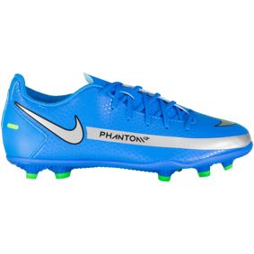 Nike JR PHANTOM GT CLUB FG/MG / Q1 21, fotballsko junior 36 Photo Blue/metallic