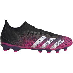 adidas PREDATOR FREAK .3 LOW MG / Q2 21, fotballsko senior 43 1/3 Core Black/Ftwr Whit