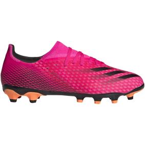 adidas X GHOSTED.3 MG / Q2 21, fotballsko senior 41 1/3 Shock Pink/core Blac