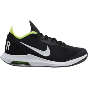 Nike Court Air Max Wildcard, tennissko herre 8,5/42 BLACK/WHITE-VOLT