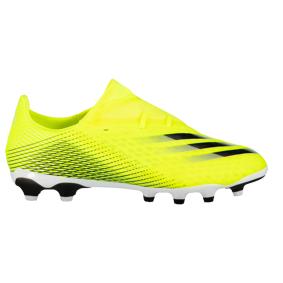 adidas X GHOSTED.2 MG / Q1 21, fotballsko senior 40 Solar Yellow/ftwr Wh