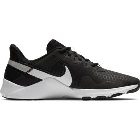 Nike Legend 2, treningssko herre  44 BLACK/WHITE-METALLIC
