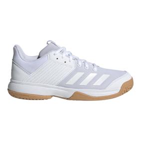 adidas Ligra 6, innendørssko junior 38 2/3 Ftwr White/Ftwr Whit