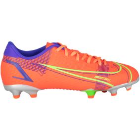Nike JR VAPOR 14 ACADEMY FG/MG / Q1 21, fotballsko junior 34 Bright Crimson/metal