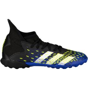 adidas PREDATOR FREAK .3 TF J / Q1 21, fotballsko junior 38 Core Black/Ftwr Whit