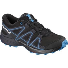 Salomon Speedcross, terrengløpesko junior 33 Black/graphite/hasu