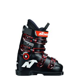 Nordica Dobermann GP 70 JR 20/21, alpinstøvel racing junior 245 (38,5) BLACK