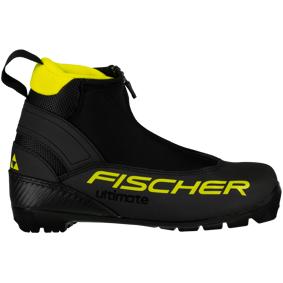 Fischer Ultimate JR 20/21, klassiskstøvel junior 29 Black/Yellow