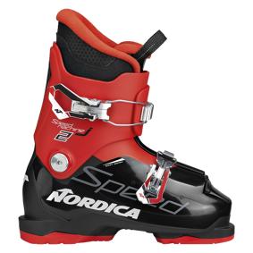 Nordica Speedmachine JR 2 20/21, alpinstøvel junior 185 (32,0) Red_black