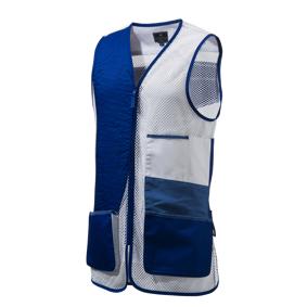 Beretta Uniform Pro Skeet Vest Dx Usx, skytevest M white and blue Beret
