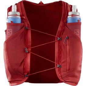 Salomon Advanced Skin 5 Set, løpesekk med softflasker, unisex M GOJI BERRY