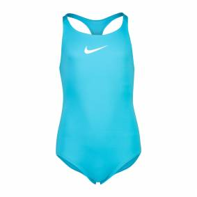 Nike Racerback One Piece, badedrakt junior L Chlorine Blue