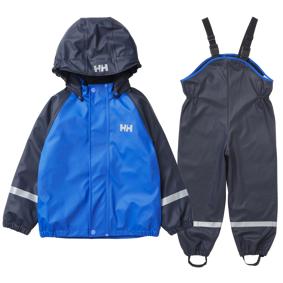 Helly Hansen Bergen Fleece Pu Rainset, regnsett barn