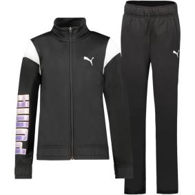 Puma Alpha Suit, joggedress junior 164 Puma Black