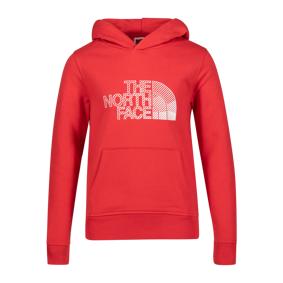 The North Face Biner Graphic Hoodie, hettegenser junior XL Rococco red
