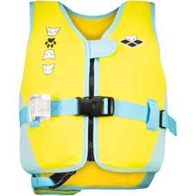 Arena Friends Swim Vest, flytevest junior 4-6 Yellow
