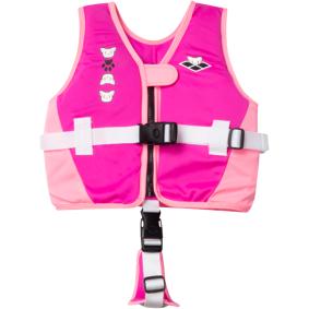 Arena Friends Swim Vest, flytevest junior 4-6 Fuchsia