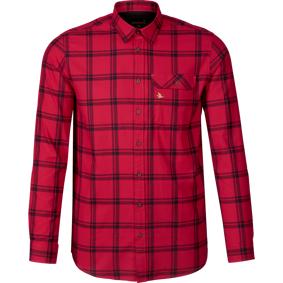 Seeland Highseat Skjorte, flanellskjorte herre XXL Hunter Red