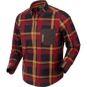 Härkila Amlet L/s Skjorte XL Red/black Check