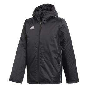 adidas Core 18 Stadium, treningsjakke junior 128 BLACK/WHITE