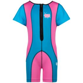 Arena Awt Warm Suit, våtdrakt barn 1-2 Fuchsia,Blue