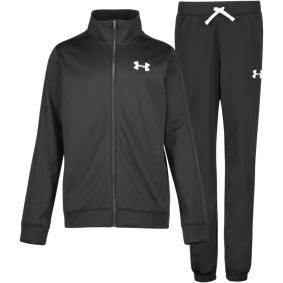 Under Armour Knit Track Suit, treningsdress junior YLG BLACK