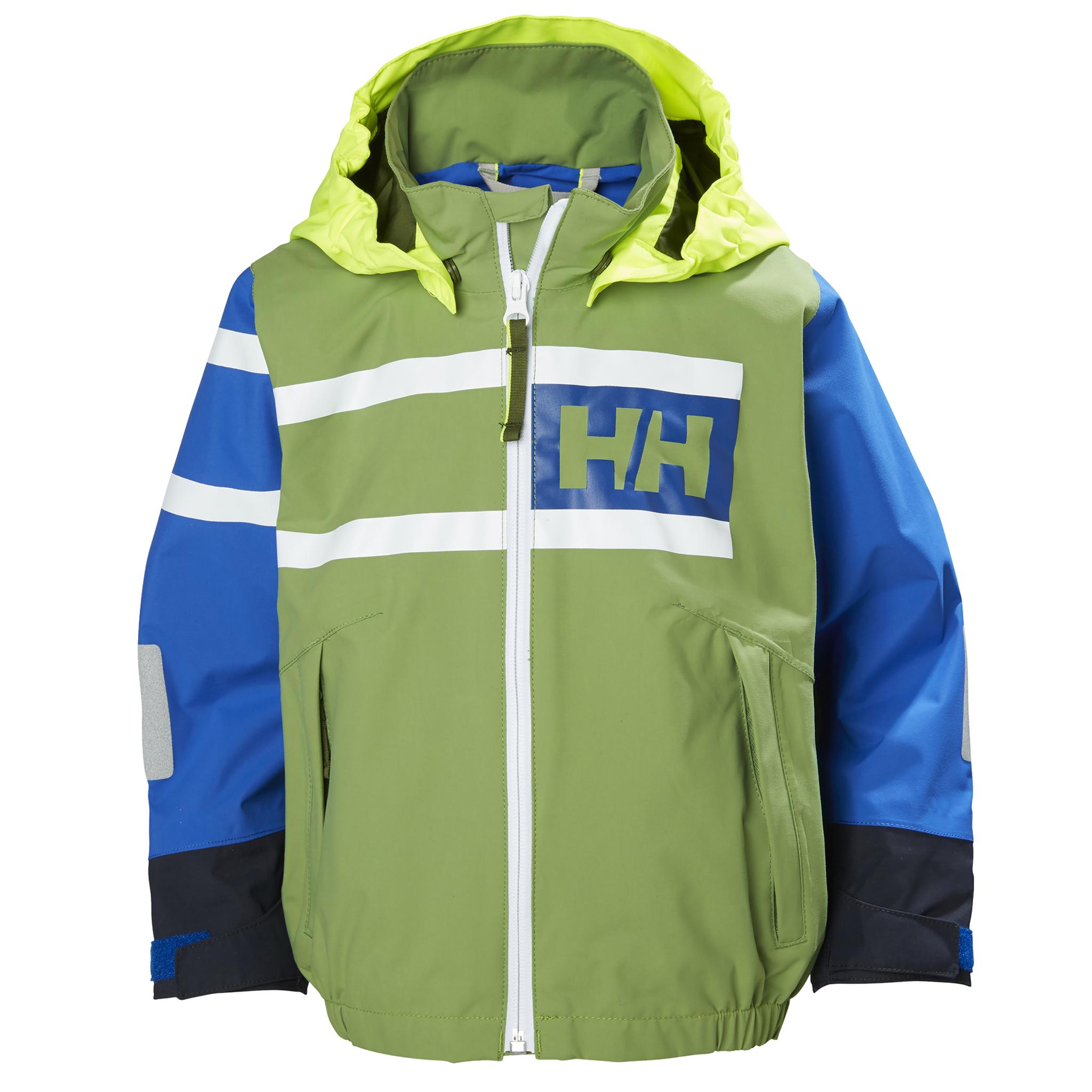 Helly Hansen Jakke W Salt Flag Jacket Blå Dame Ellos.no