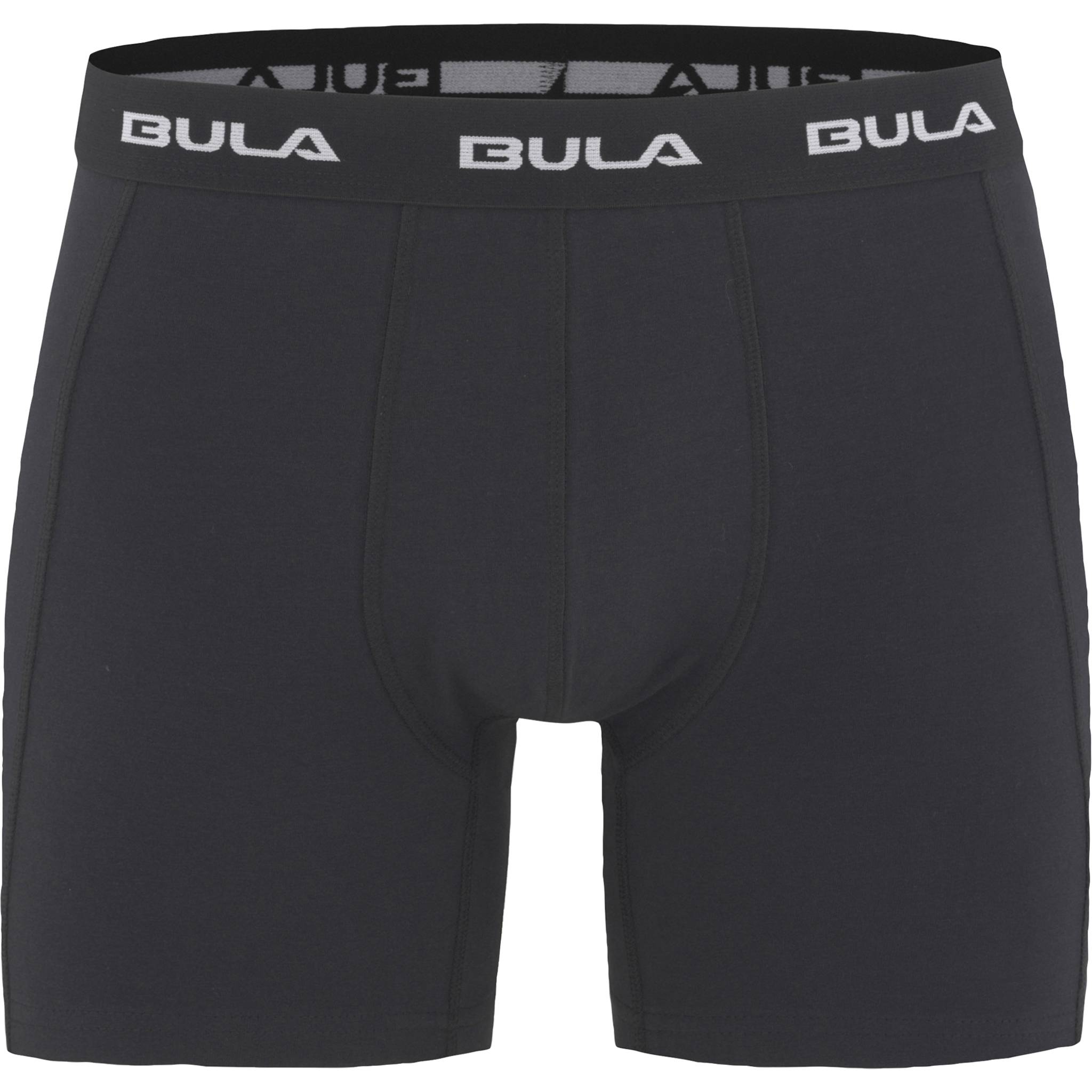 Bula Solid Boxer, bokser herre  S BLACK