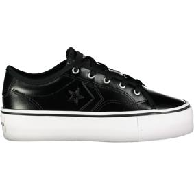Converse Star Replay Platform All Of TheStars, fritidssko dame 38 BLACK/BLACK/WHITE