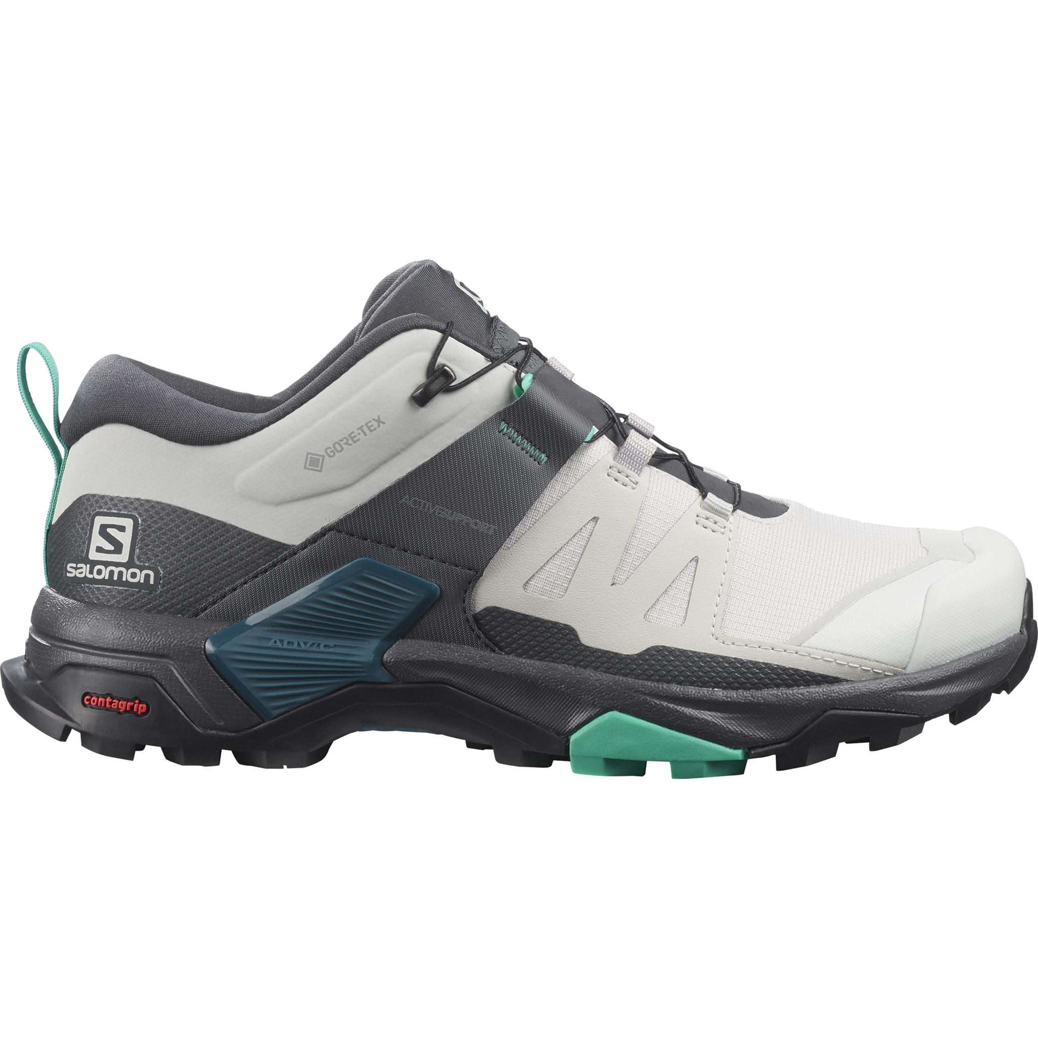 Salomon X Ultra 4 Gtx, hikingsko dame 40 2/3 Lunroc/ebony/mint