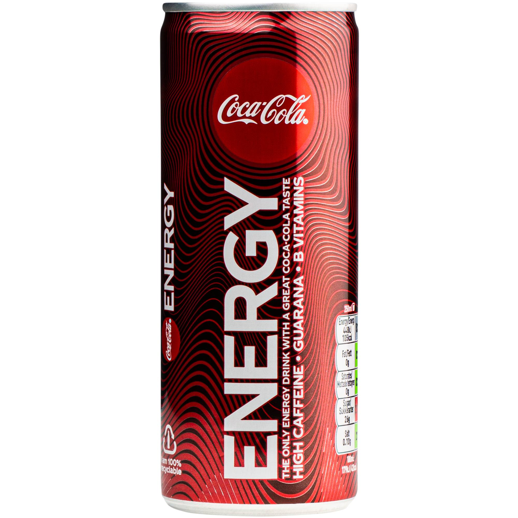 Coca-Cola Energy 250ml STD 0,25L STD