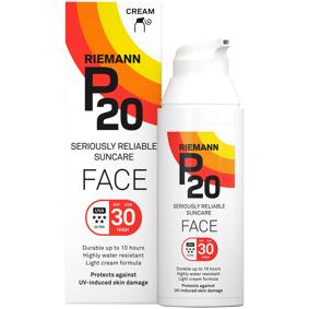 P20 Face Cream SPF 30 - 50 ml, solkrem 50ml Lotion