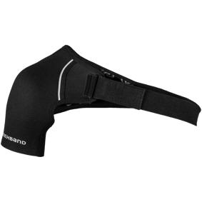 Rehband QD Shoulder Support 3 mm, skulderbeskyttelse høyre senior S BLACK