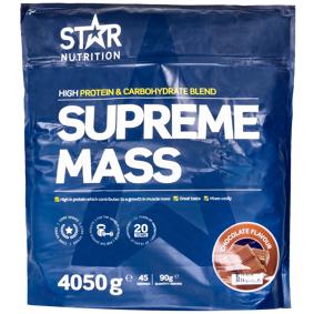 Star Nutrition - Supreme Mass, 4050 G CHOCOLATE 4050g CHOCOLATE