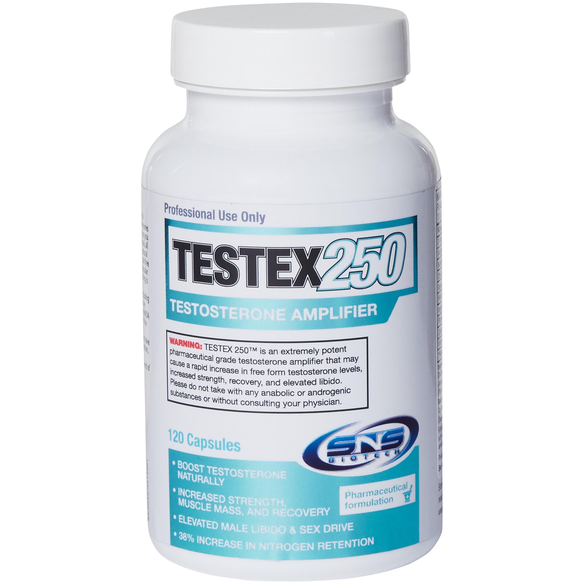 SNS Biotech Testex 250 kapsler, kosttilskudd