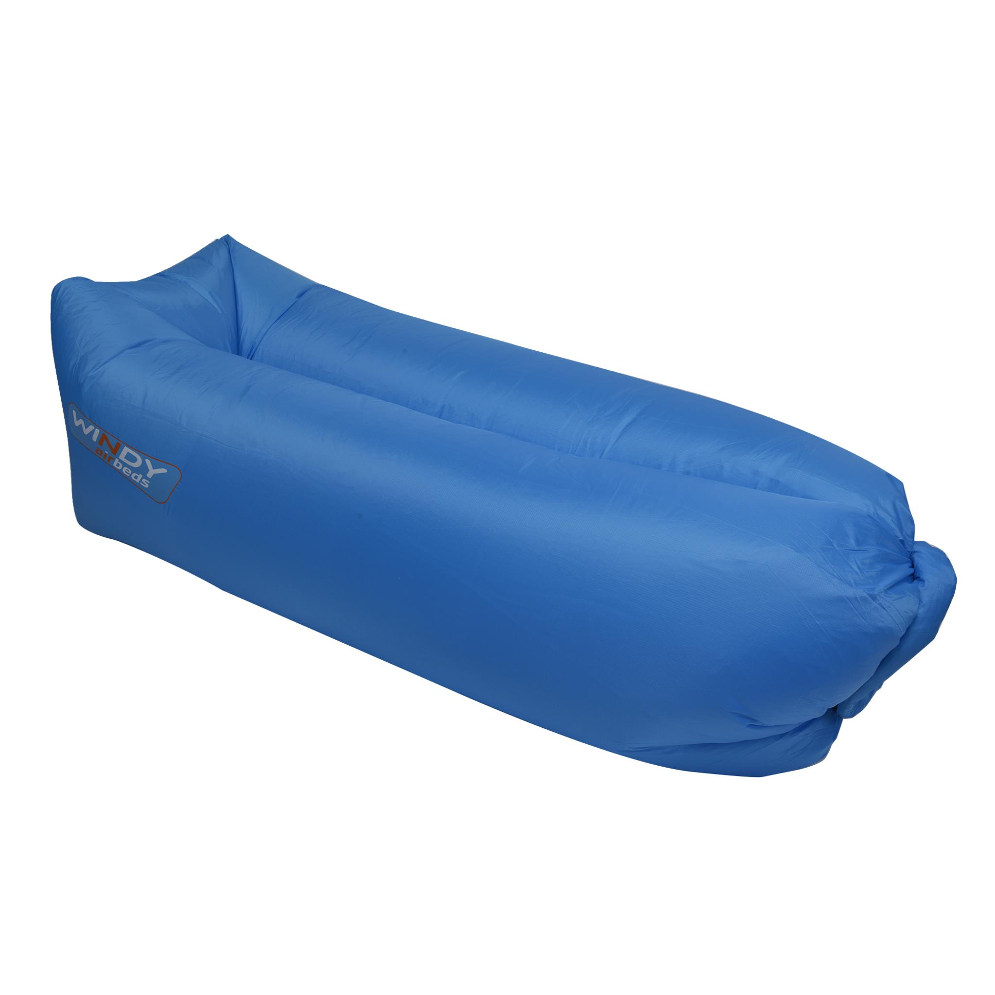 Airbed Polyester, oppblåsbar sofa 240x70 cm