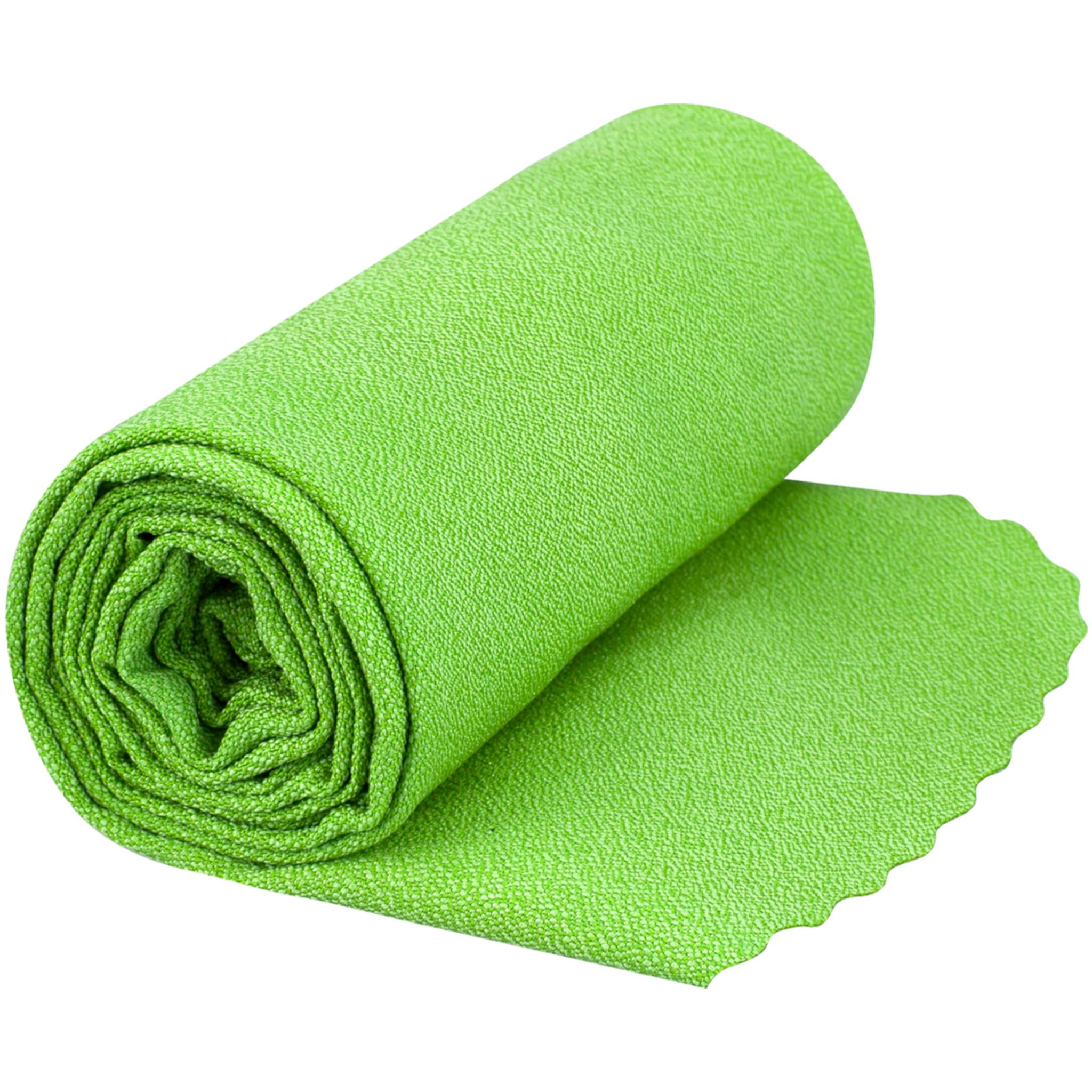 Sea To Summit Airlite Towel Medium Lime, turhåndkle Medium Lime