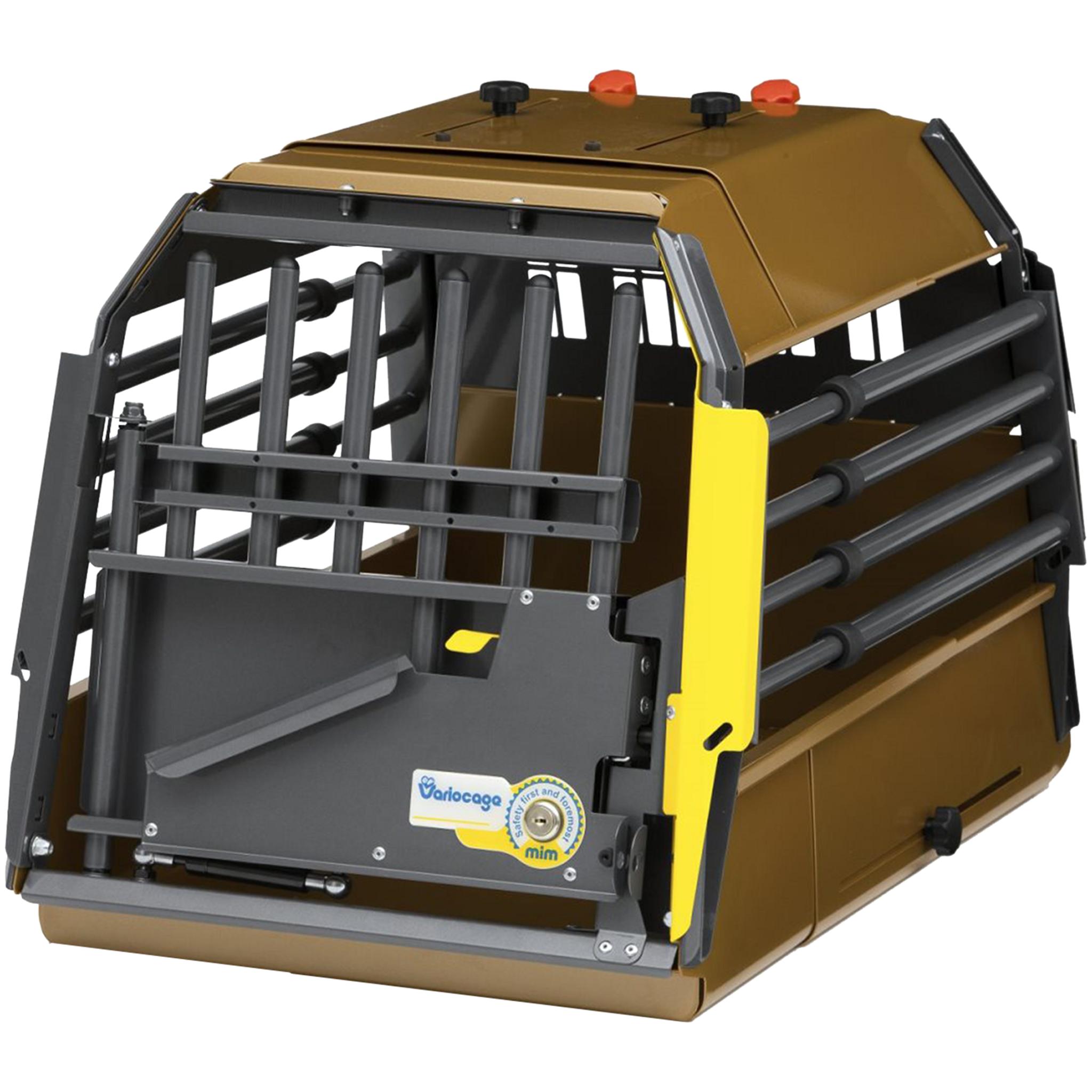 MIM VarioCage MiniMax L, hundebur 57-77x45x45,5cm Grå