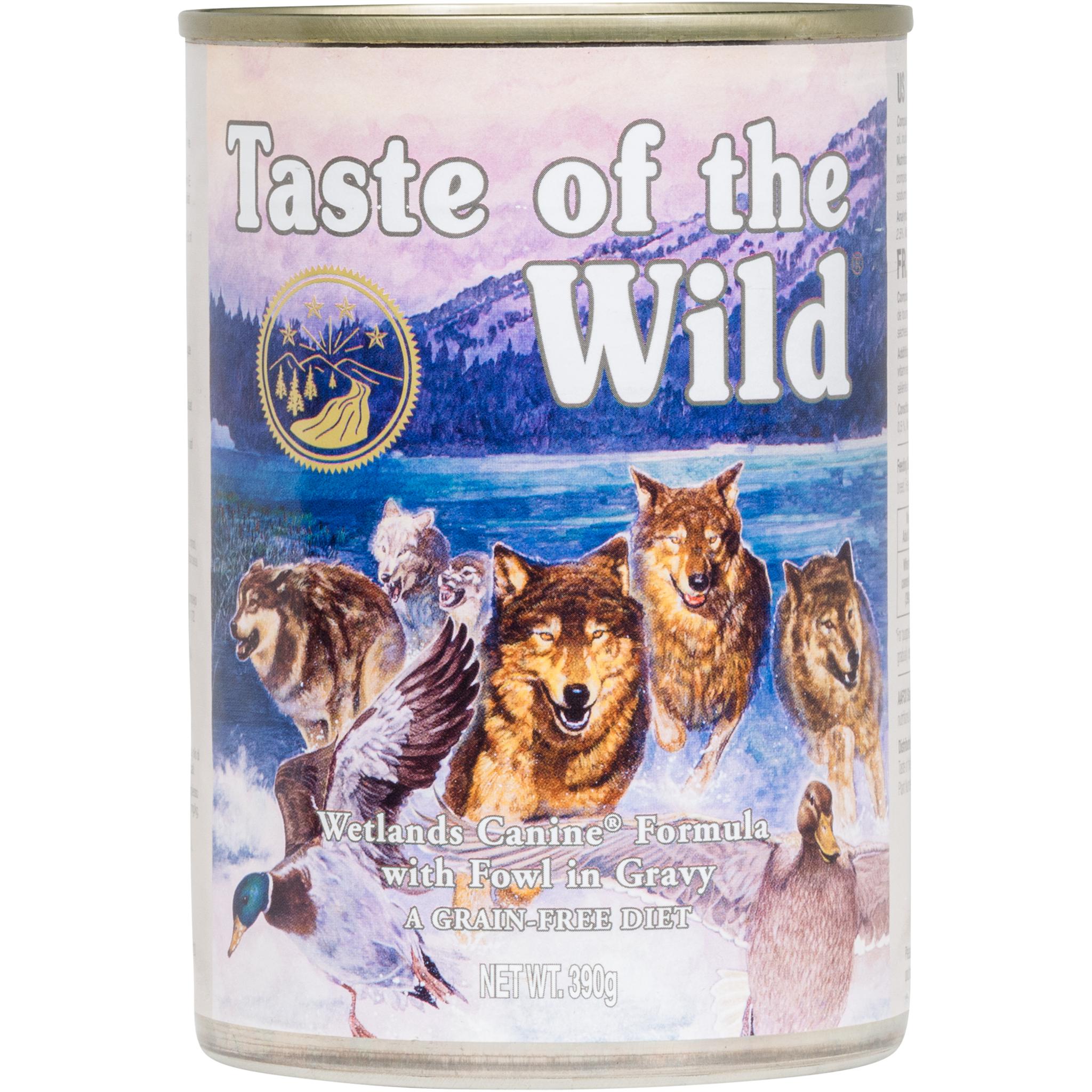 Taste of the Wild Wetlands Duck Cans, hundefòr